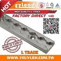 [EZ LOAD] Aluminum Logistic L-Track Accessories for Pick Up Truck
