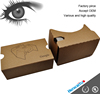 Watch Film Video used 3D Glasses with Printing Any Color 3D Google Cardboard VR 2.0 for Factory
