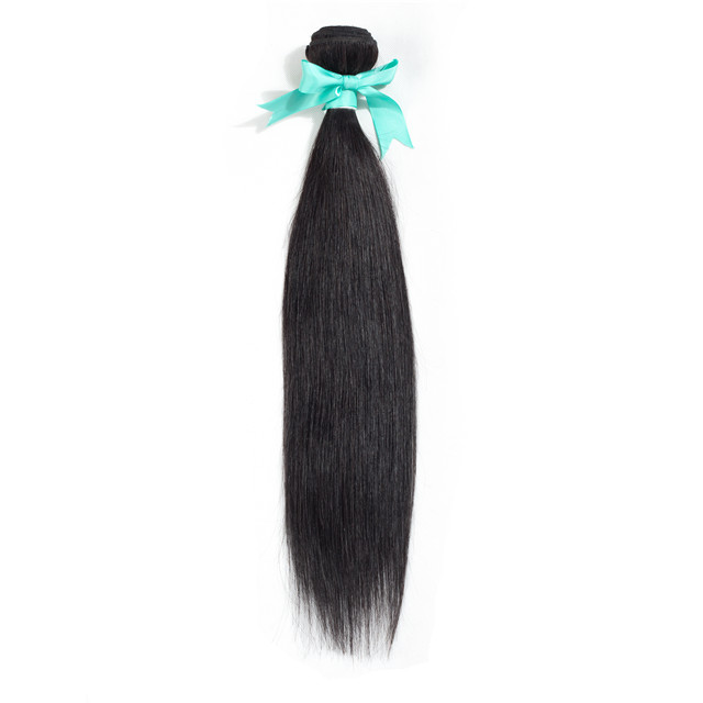 8A Natural Color Brazilian Straight <strong>Human</strong> Hair Extension <strong>Human</strong> Straight