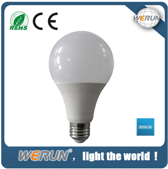 High power energy saving Aluminum&PC cover 2 years warranty gu10 led bulb