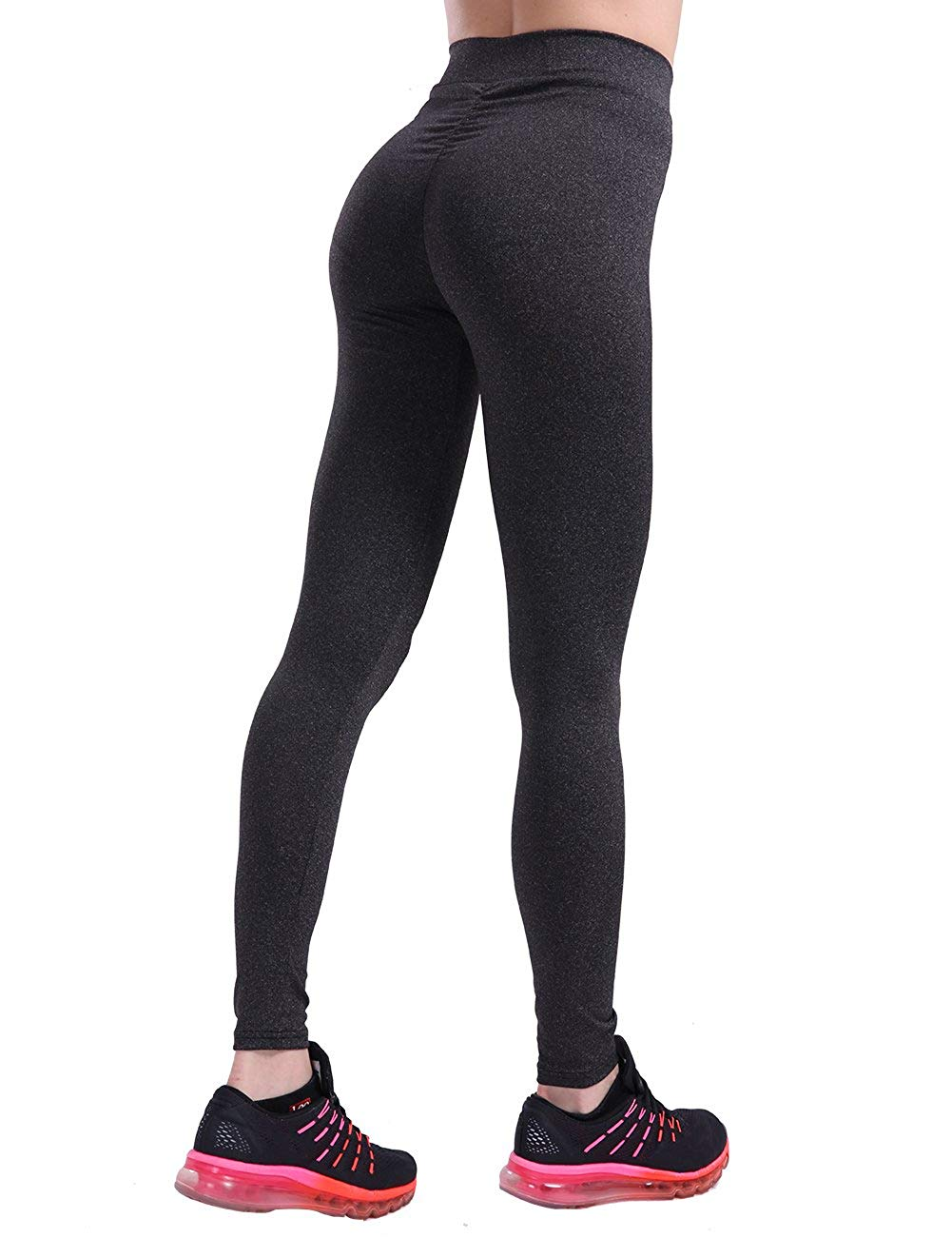 188bee2456640 Get Quotations · CHRLEISURE Workout Leggings for Women - High Waisted  Leggings with Scrunch Butt, Push Up,