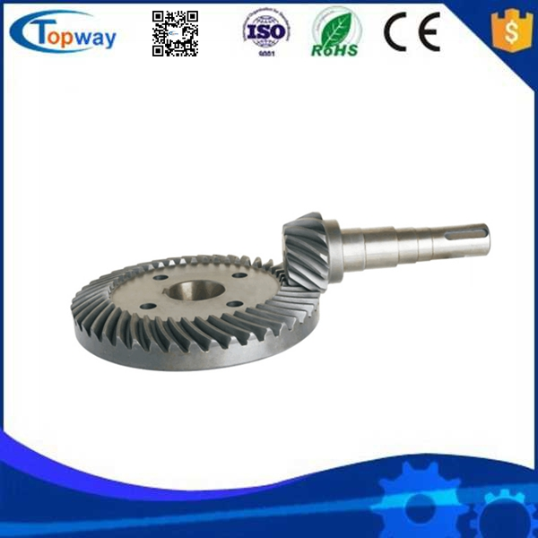 Custom drawing Carbon Steel helical spur gears for agriculture tractor gear box