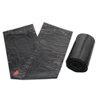 Custom Recyclable Biodegradable Drawstring Heavy Garbage Plastic Bags