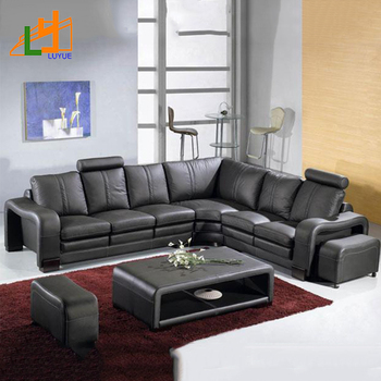 Luxury Pictures Real Leather Sofa