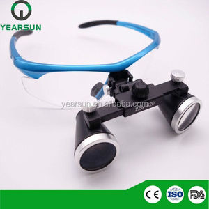 2.5x or 3.5x dental magnifying loupes china surgical instrument prices