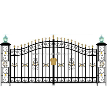 R0137 Wrought Iron Gate Designs For Homes Made In China - Buy Main on home staircase design, home driveway design, home ladder design, home door design, home fortification design, home balcony design, home lounge design, home lighting design, home office design ideas, home entry design, home plate design, home wall design, home chimney design, home bridge design, home entrance design,