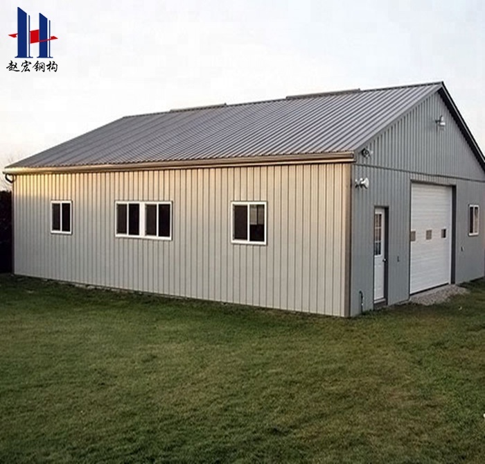 Fast Assembly Steel Metal Building Kits For Garden House