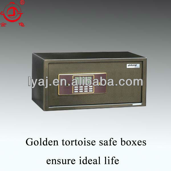 students use electronic lock laptop safe box
