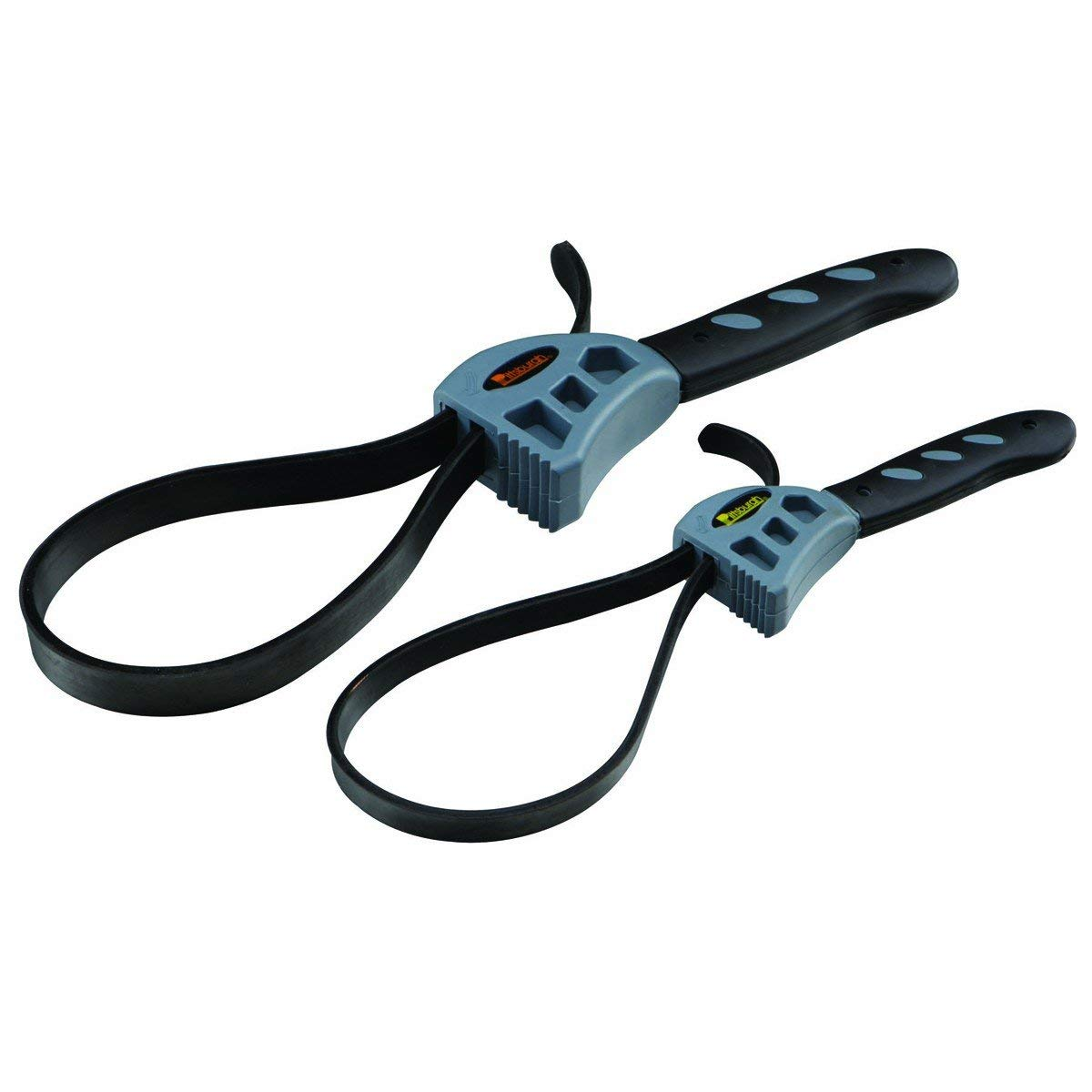 2 Piece Rubber Strap Wrench Set