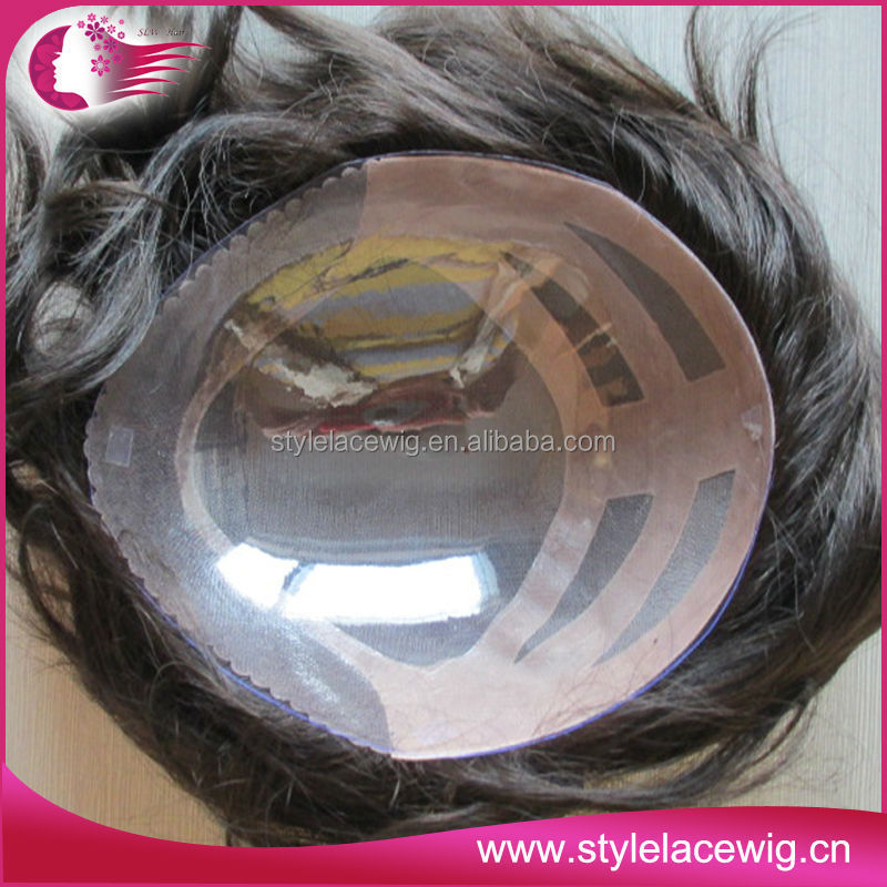 Custom order indian hair cheap men toupee