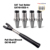 4pcs CAT40-25ER Tool Holders Suppliers Lathe Tool Bit Holder and CAT40 Pull Stud Wrench