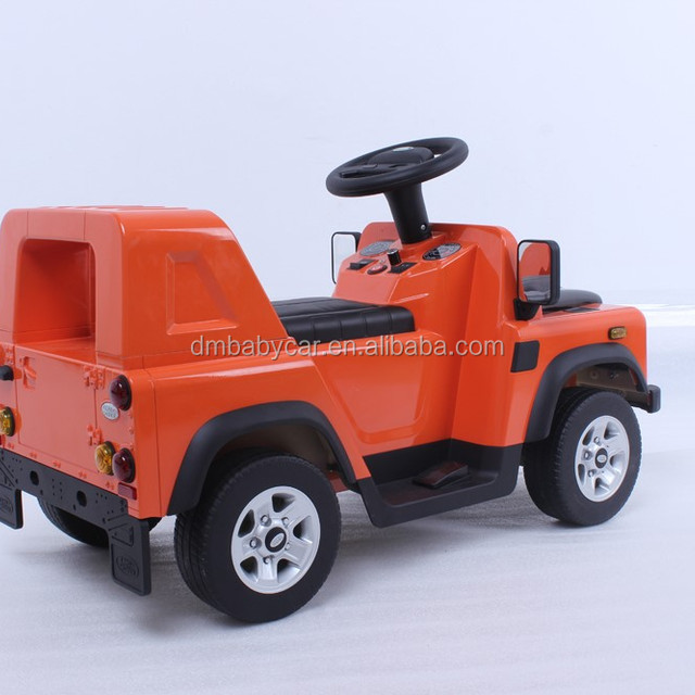 2016 hot selling mini size land rover kids driving toys cars with remote control