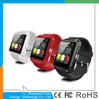 2015 Low Price Fashion Bluetooth U8 Smart Watch Sport Wrist Watch Compatible with Android Phone Device