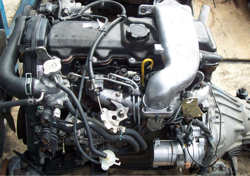 Jdm Motor Usado Para El Coche Toyota 2l 3l Hiace Hilux Surf
