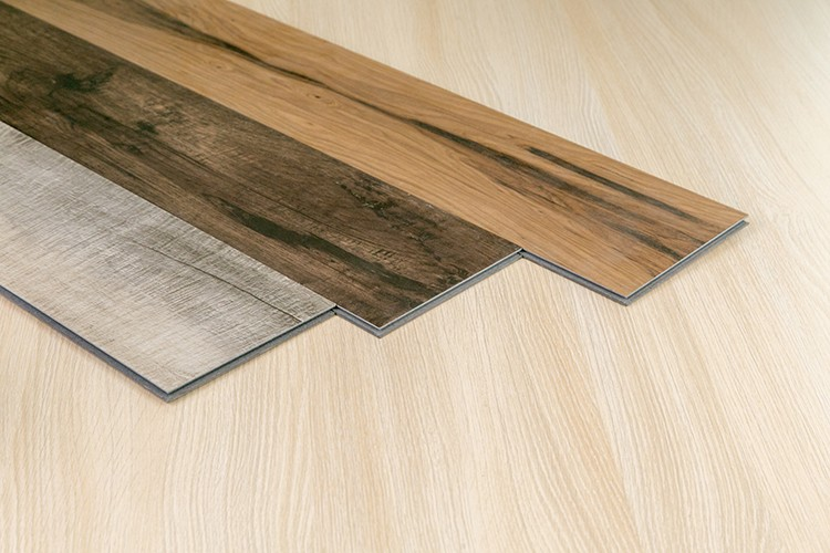 Indoor pvc vinyl flooring click synthetic wood plank buy synthetic