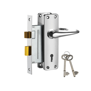 fire door stainless steel mortise lock sash cylinder lock for Africa697-3495-CP