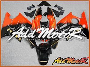 Addmotor Injection Mold Fairing Fit CBR600 F3 1997 1998 Sevenstars Orange H3735