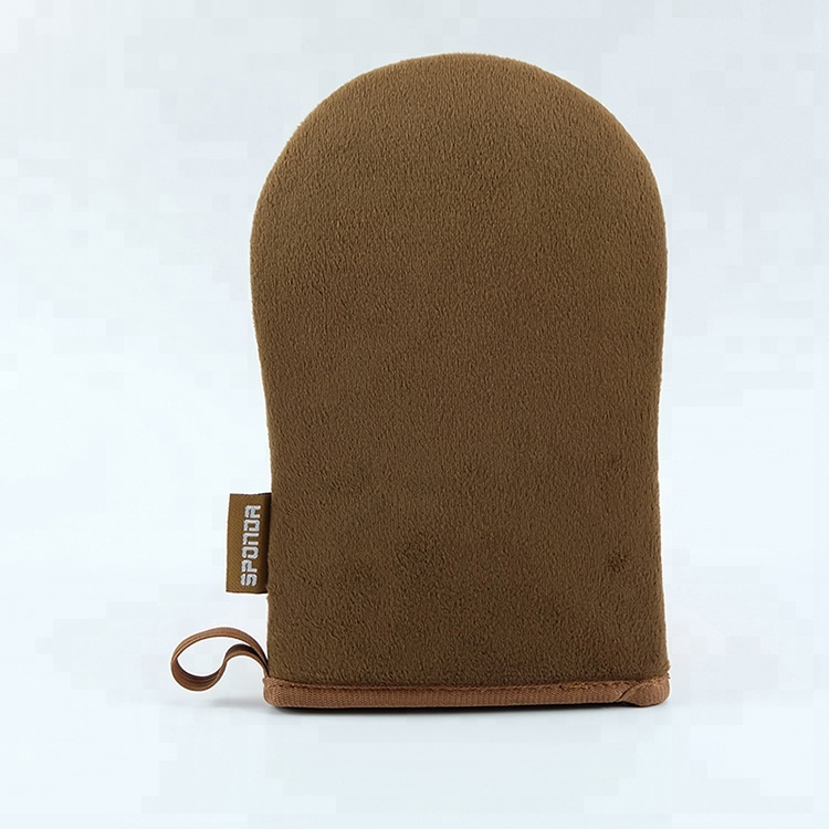 Streak-Free Sunless Tanning Applicator Mitt Wholesale, Brown;black;pink;green;customized color available