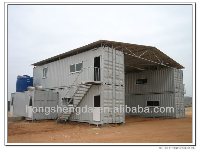 40 Feet Prefab Shipping Container House For