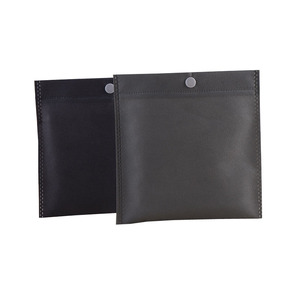 black grey custom Commercial Papers packaging suit button nonwoven cloth bags