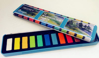 factory produce artist pallete watercolor paint with brush