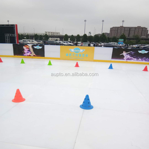 Synthetic ice rink skate / roller skate board is made from high technology material with complex processing