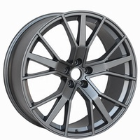 Kipardo 18 inch 19 inch 22 inch car accessories alloy wheels rims with JWL VIA certificated