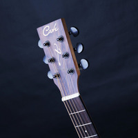 QM-764 middle level 36'' small size acoustic guitar travel type spruce body material mahogany back matte satin finish