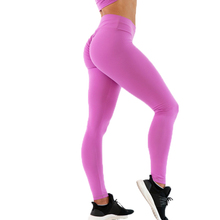 Benutzerdefinierte sexy fitness scrunch booty heben leggings nylon yoga aktive <span class=keywords><strong>tragen</strong></span> rose rosa