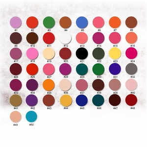 Eyeshadow Private Label Make Up Cosmetics wholesale makeup Pressed Matte Glitter Shimmer Eyeshadow