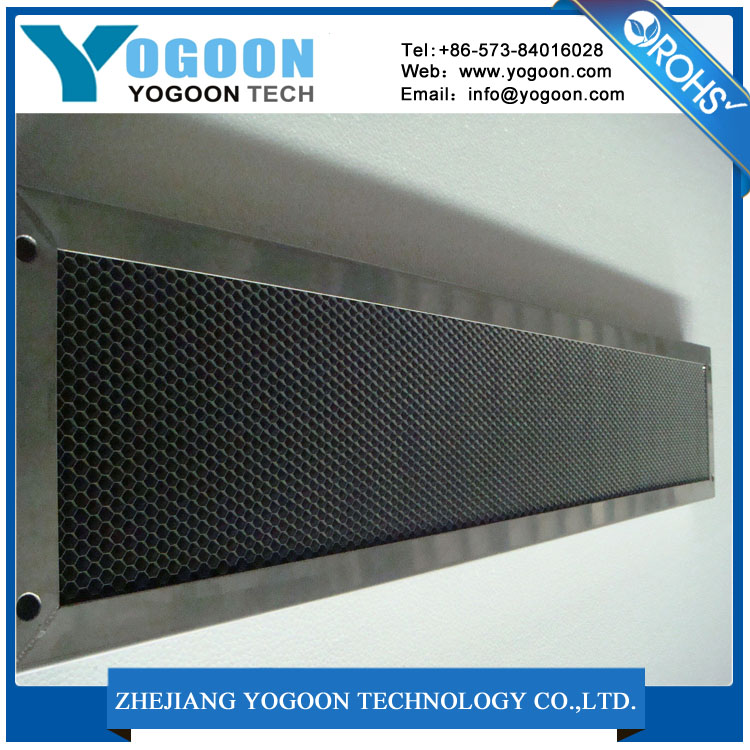 High thermal conductivity aluminum honeycomb core and panel used in prefabricated houses