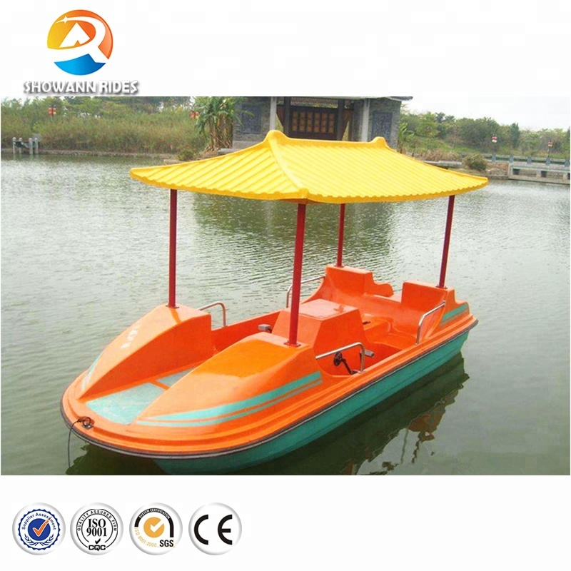 Water Games Fiberglass Paddle Boat Used Pedal Boats For Sale - Buy