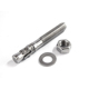 A2 A4 carbon steel Torque controlled sleeve bolt or anchor bolt with nut and washer