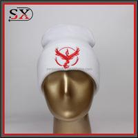 2016 latest design novelty custom made cute animal shaped plush pokemon hat