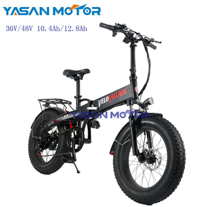 China wholesale foldable 250W/350W/500W electric bicycle fat tire with brushless motor