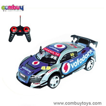 Newest product 4 channel pvc shell remote control car for 2 year old