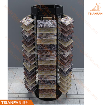 MM109---Rotating mosaic tile display stand