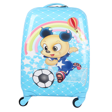 Football Boy Cheap Suit cases And Suitcase Carry On