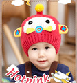 High quality winter 2015 new fashion cute baby girl boy child knitted hat cute cartoon Christmas