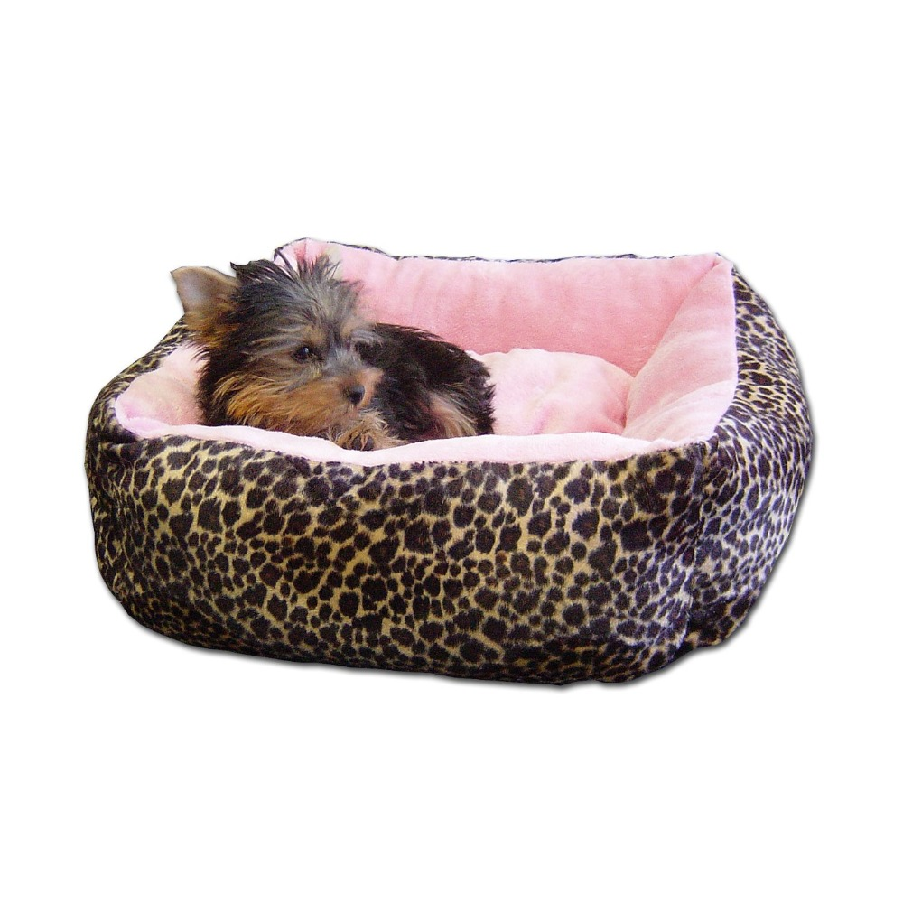 Modern Chic Plush Pet Bed for Dogs and Cats
