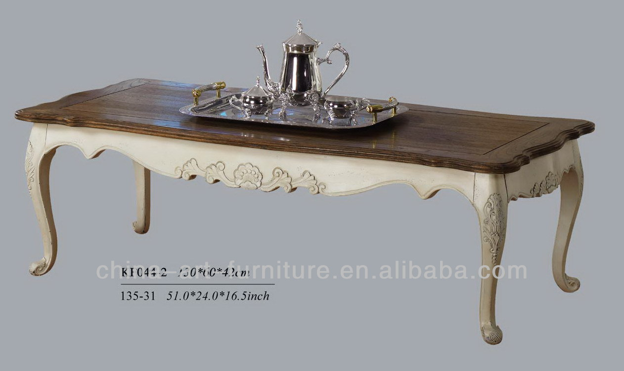 Modern living room furniture, european styles, wooden coffee table