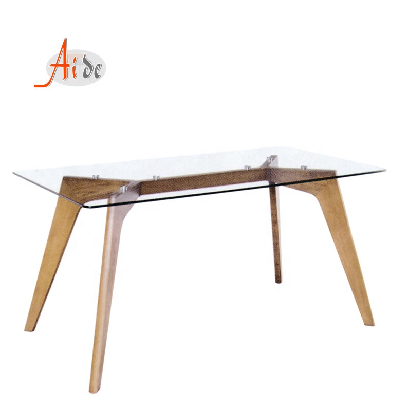Cheap SimpleTempered Glass Dining Table