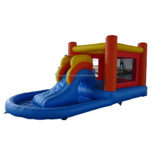 Color Customized jumbo water slide inflatable commercial bounce house jumping castle