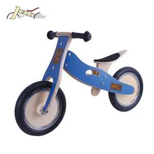OEM 12 inch Wooden Kids Bikes For Balance Exercise