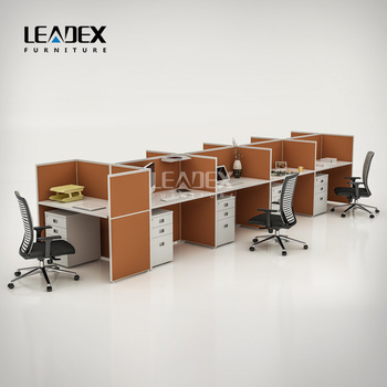 2018 Newest Guangdong Office Furniture Office Cubicle Workstations