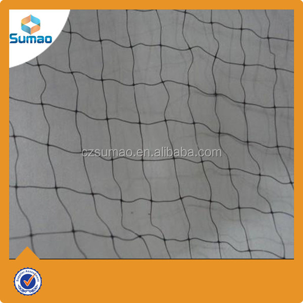Plastic pop up mist bird netting