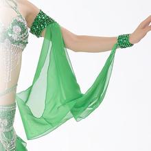 Performance Belly Dance Sequin Armwear Chiffon Armband Dance Accessories Dance Bracelet