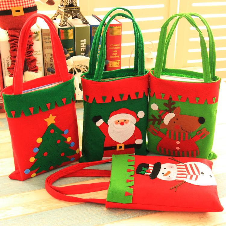 Lipan decoraciones De Navidad,Bolsos Para Niños