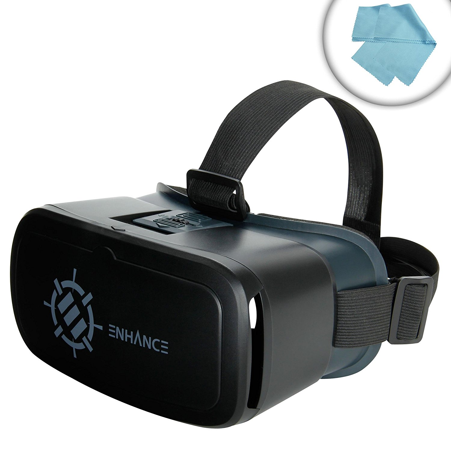 Buy Enhance Virtual Reality Headset Glasses For 3d Vr Apps And Split Screen Videos Works With Apple Iphone 6s Plus Samsung Note 5 Htc One M9 Motorola Droid Maxx