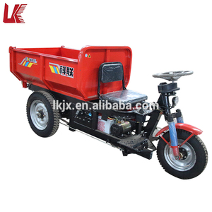 electric cargo use for and open body type self-loading mini dumper